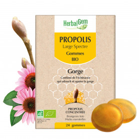 PROPOLIS LARGE SPECTRE - gommes - 24 g | Herbalgem